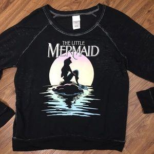 Disney The Little Mermaid Burnout Long Sleeve Tee